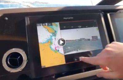 Innovation - Raymarine et Prestige font rentrer la réalité augmentée dans l'expérience de pilotage des yachts