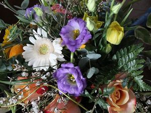 Des fleurs pour l'ouverture des jeux de  Roland-Garros 2014