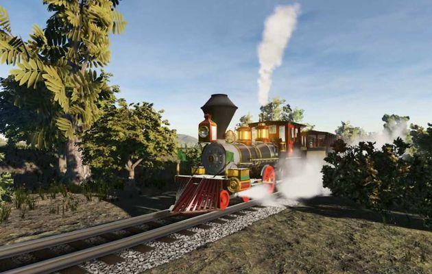 Disneyland Railroad Simulator en développement