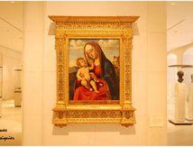 Vierge à l'enfant, de Cima