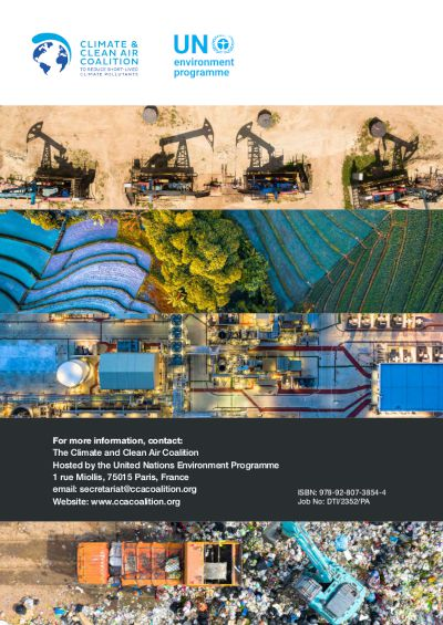 Rapport « Global methane assessment : benefits and costs of mitigating methane emissions »