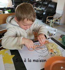 Fil - DIY Pâques - Projet enfant
