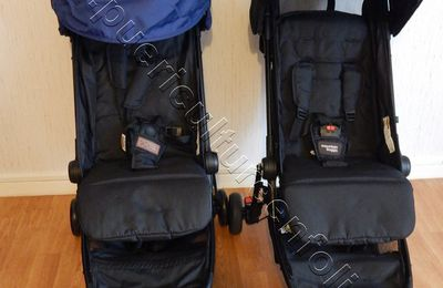 COMPARATIF POUSSETTE MOUNTAIN BUGGY NANO V1 vs NANO V2 2016