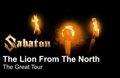 VIDEO - Nouveau clip de SABATON The Lion from the North