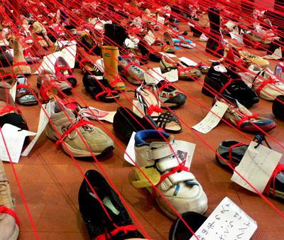 600 chaussures / 600 histoires