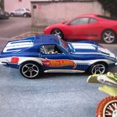 69 CORVETTE ZL-1 CHEVROLET CORVETTE ZL1 1969 HOT WHEELS 1/64 - car-collector.net