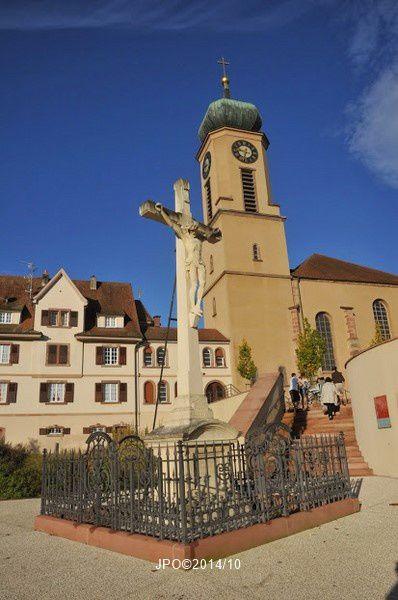Thierenbach, messe de pèlerinage de l'UNC