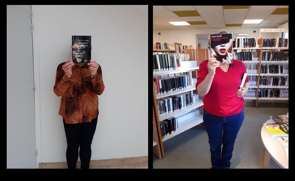 Bookface à la bibliothèque