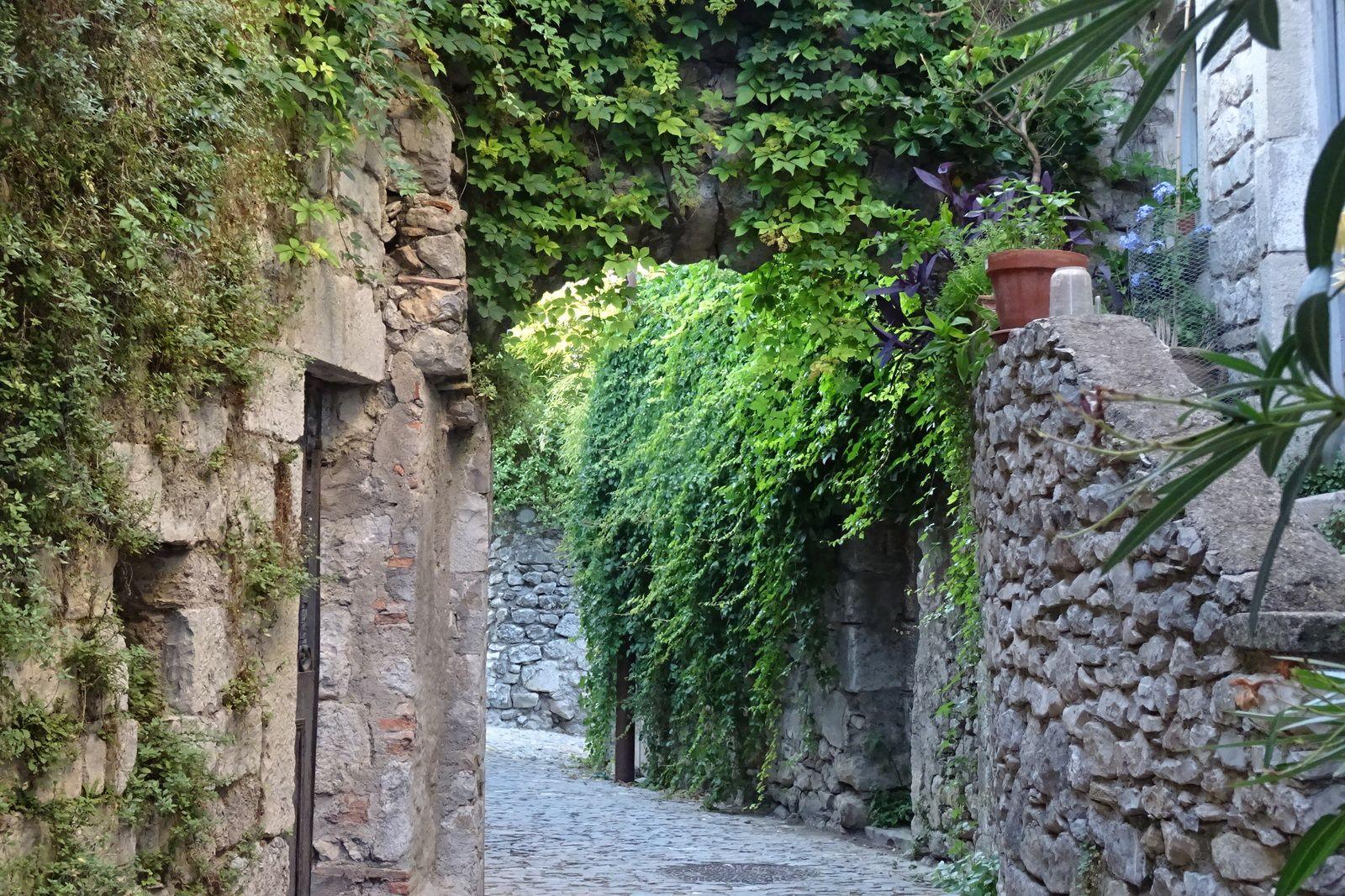 Petit aperçu du village médiéval.