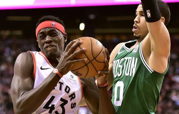 Pascal Siakam et les Raptors font couler les Celtics