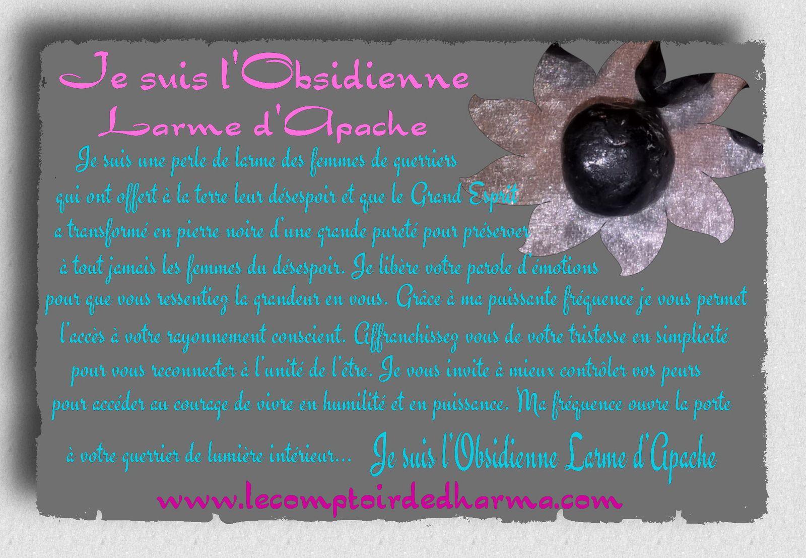 L'Obsidienne Larme d'Apache