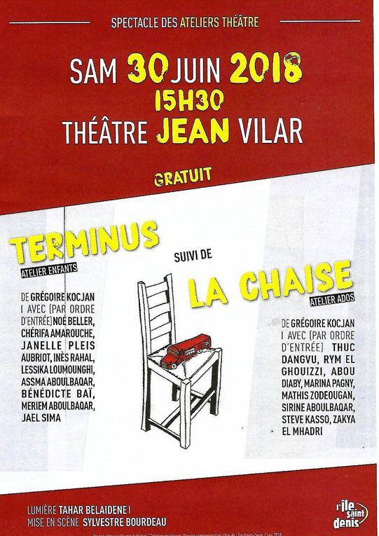 Théâtre Jean Vilar le 30 juin 2018 dès 15h30