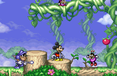 Super Nintendo - Magical Quest starring Mickey Mouse