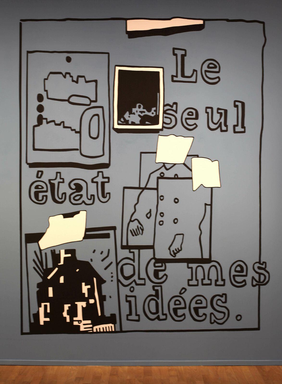 """""""Le seul état de mes idées"""", 2021 de Jean-Michel ALBEROLA - Courtesy de l'artiste et de la galerie Templon Paris  © Photo Éric Simon"""