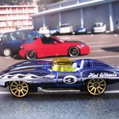 CHEVROLET CORVETTE STINGRAY CONVERTIBLE HOT WHEELS 1/64 - car-collector.net