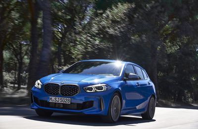 BMW Série 1 2019 : Bouleversement des traditions