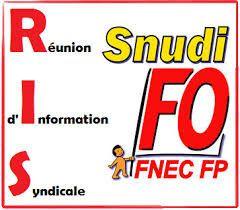 Prochaines RIS du Snudi FO 95 en février /mars 2020 : venez vous informer !