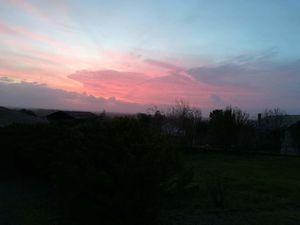Mirebeau au Couchant : ciel du Jeudi 26 décembre à 17H 30 - Au levant : ciel du Vendredi 27 décembre à 9H28