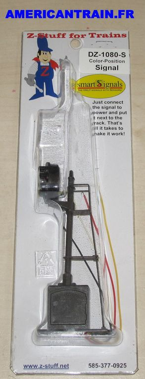 Signal ferroviaire Color Position Trackside Signal DZ-1080-S Z-Stuff