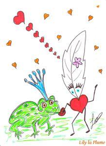 La Grenouille par Lily la Plume