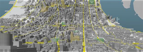 Here and There : une projection inédite de Manhattan.