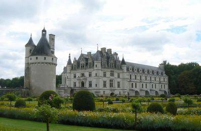Jardin de Catherine de Médicis, château de Chenonceau