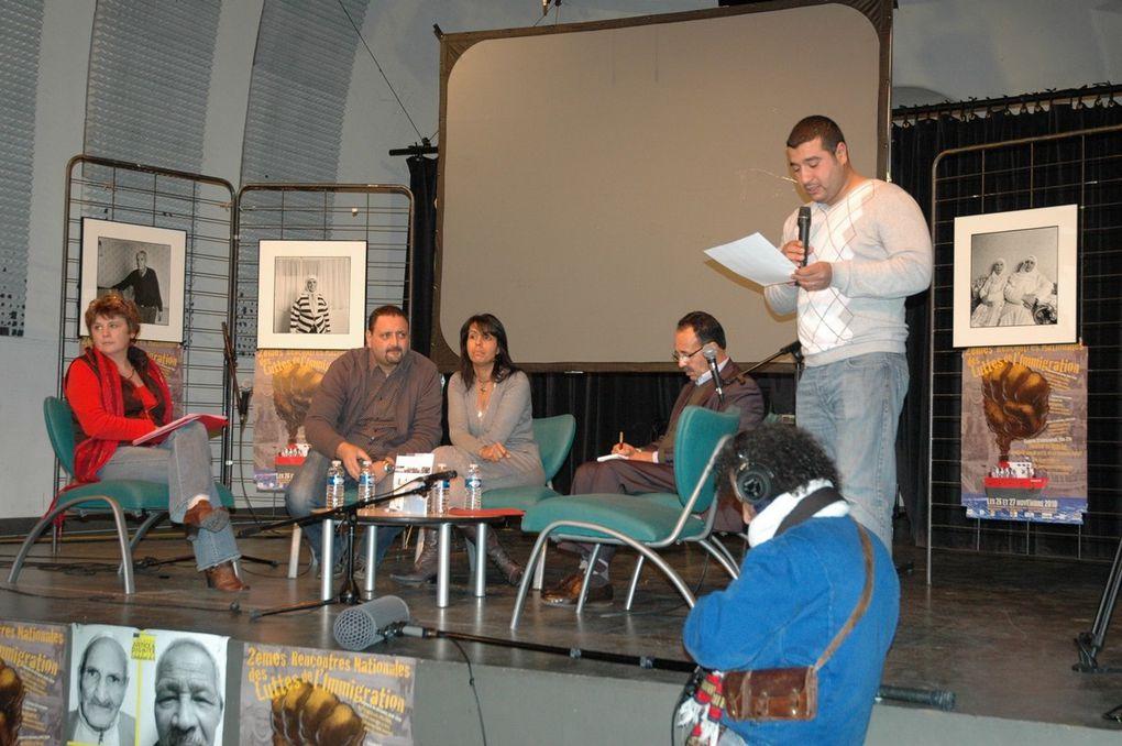 Deuxième rencontre nationale des luttes de l'immigration. Marseille novembre 2010. Photos droits réservés YM
