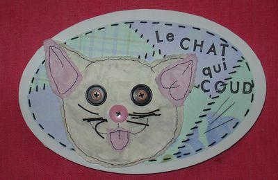 Le chat qui coud ^_^