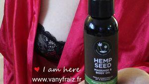 Test du coffret d'huile de massage Hemp Seed