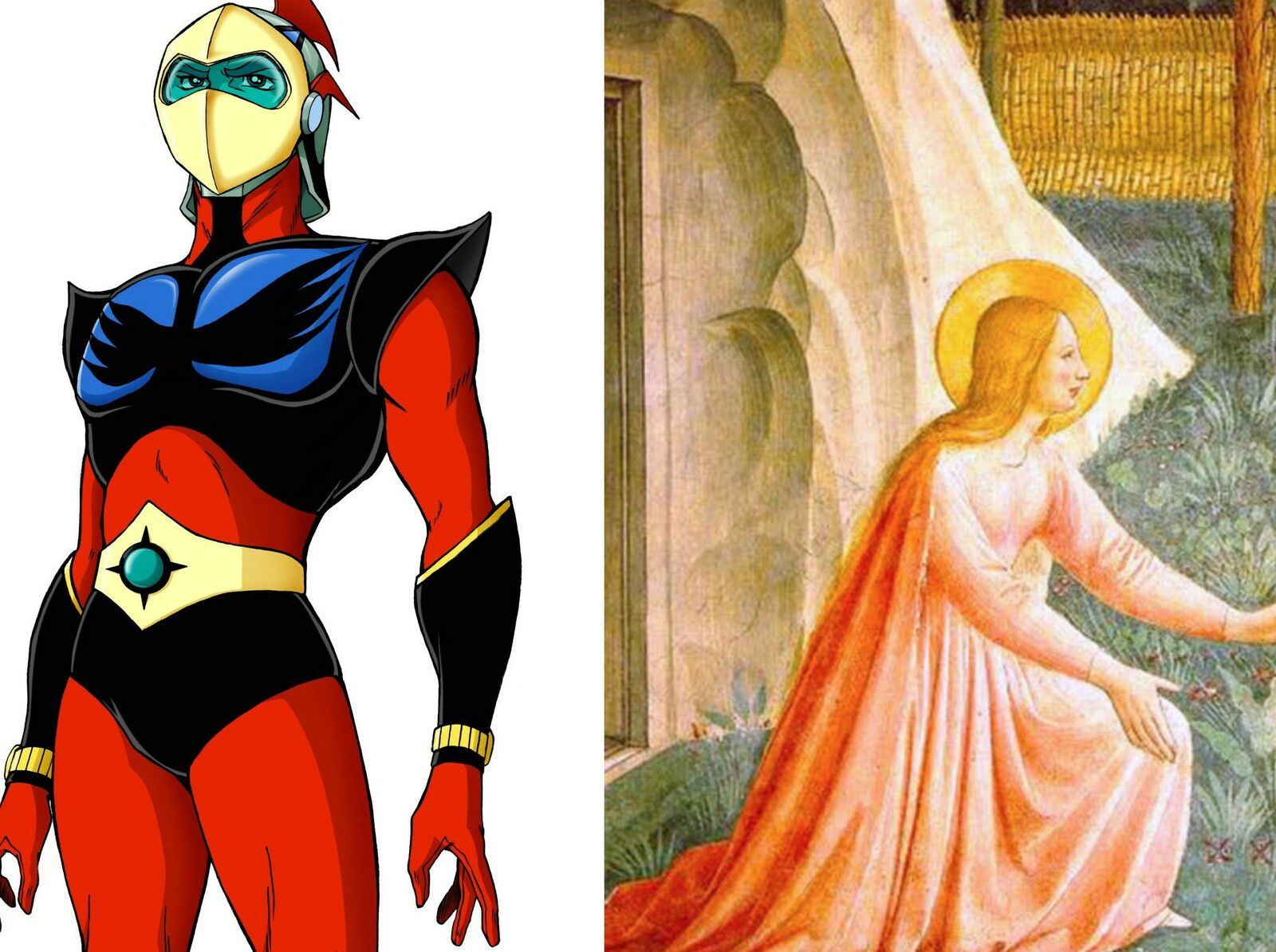 Actarus d'Euphor et Marie de Magdala