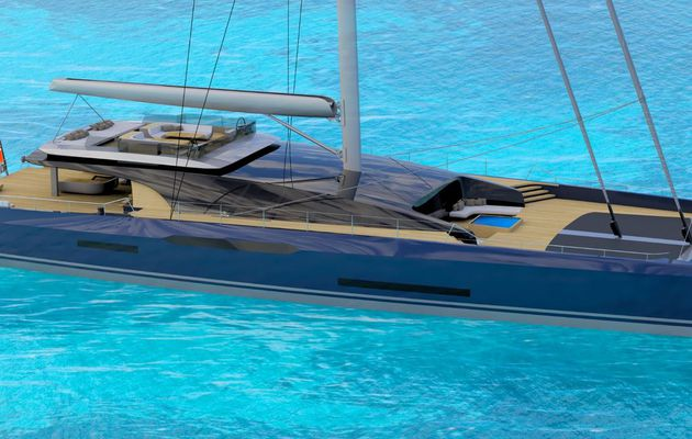 Sunreef and Malcolm McKeon unveil a superyacht catamaran, the Sunreef MM460CAT