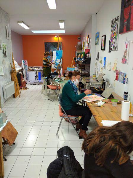 Photos des 72 élèves ... à l'oeuvre ! Dès le 2 novembre : en mode vidéo !
