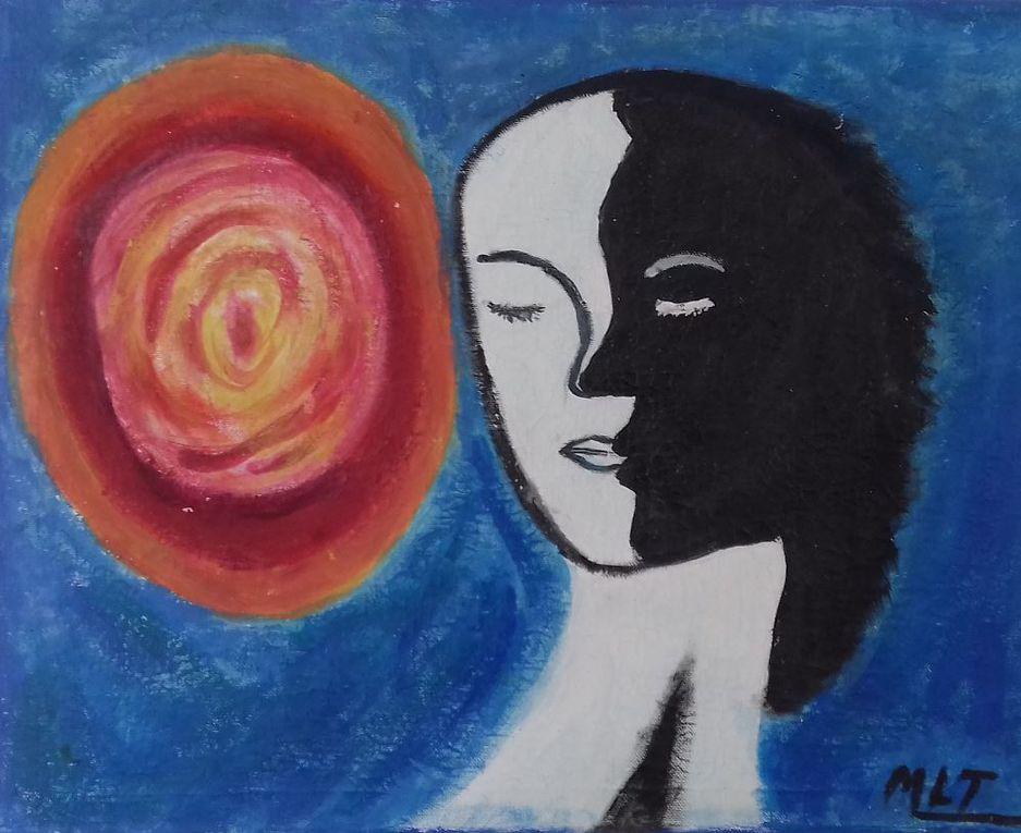 Marie Lucienne est Art-thérapeute et médiatrice artistique diplômée. Elle propose des séances thérapeutiques sur le champ de la psychanalise pour se créer et se reconstruire.