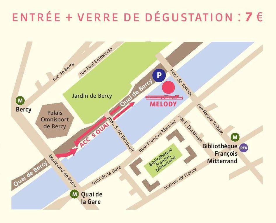 Vignerons en Seine le dimanche 8 avril 2018
