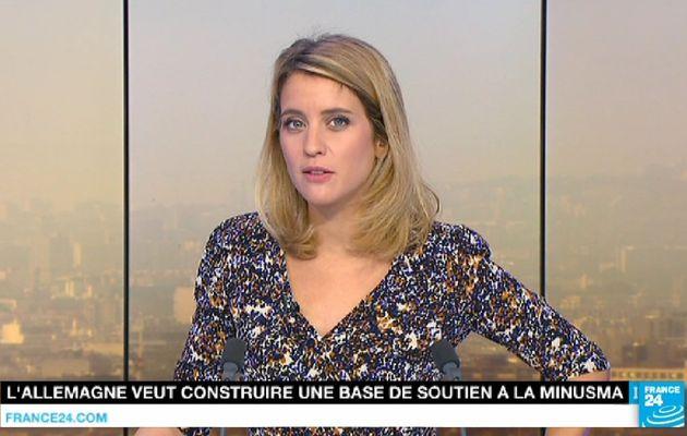 PAULINE PACCARD @PaulinePaccard ce matin @france24 pour PARIS DIRECT #vuesalatele