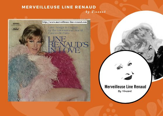 33 TOURS: 1970 Capitol - ST 2963 - Line Renaud's In Love (USA)