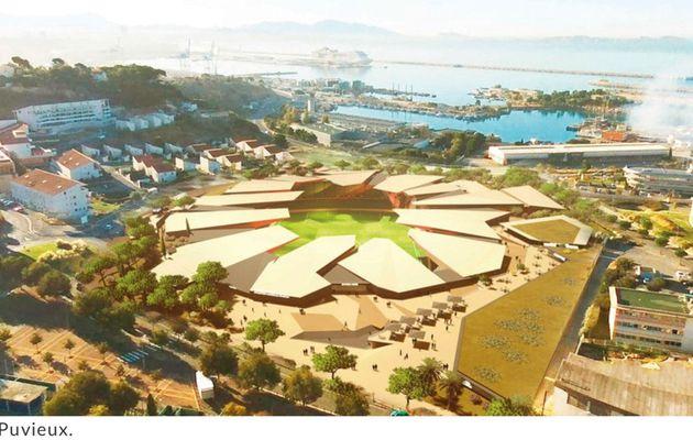Marsactu - Un stade a l'Estaque pour l'Athlético Marseille