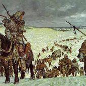 31 décembre 406 : Des peuples germaniques franchissent le Rhin gelé