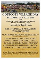 Codicote Village Day avec Kim Wilde