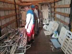 AIMA envoie son 162ème camion d'aide médicalisée vers une institution de Lettonie, à SERMUKSI
