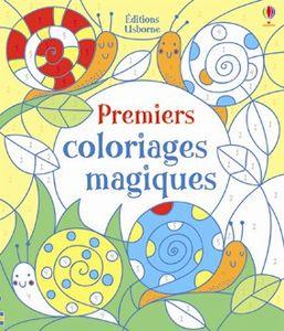 Premiers coloriages magiques Editions Usborne