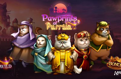 Kalamba Games lance en novembre la machine à sous mobile Pawprints of Purrsia