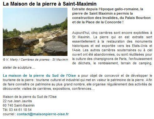 Maison de la pierre à Saint Maximin