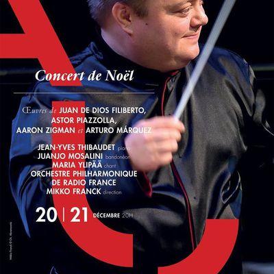 Du Tango pour l'UNICEF avec l'Orchestre Philharmonique de Radio France dirigé par Mikko Franck