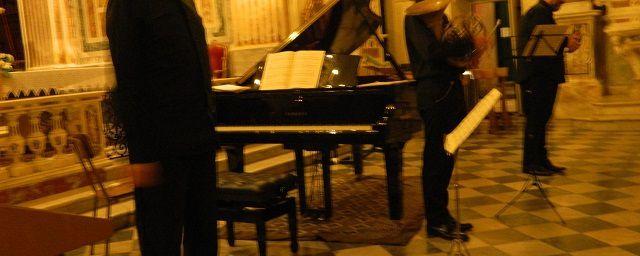 Festival paganiniano di Carro - Bonassola - Trio violino corno e pianoforte con Domenico Nordio, Guglielmo Pellarin e Federico Lovato