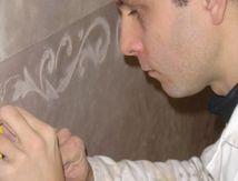 Alexandre Rabory, artisan peintre décorateur