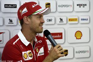 Sebastian Vettel prolonge jusqu'en 2020 chez Ferrari