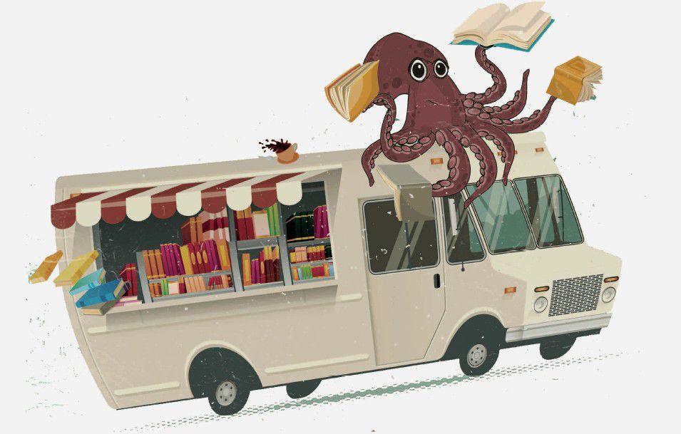 Lancement de : La Maison du Livre sur la route, un camion-librairie itinérant