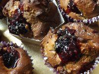 Muffins aux mûres de ronces (IG BAS)