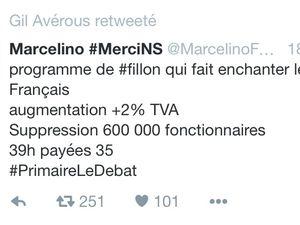Gil Avérous contre François Fillon, ça c'était avant...